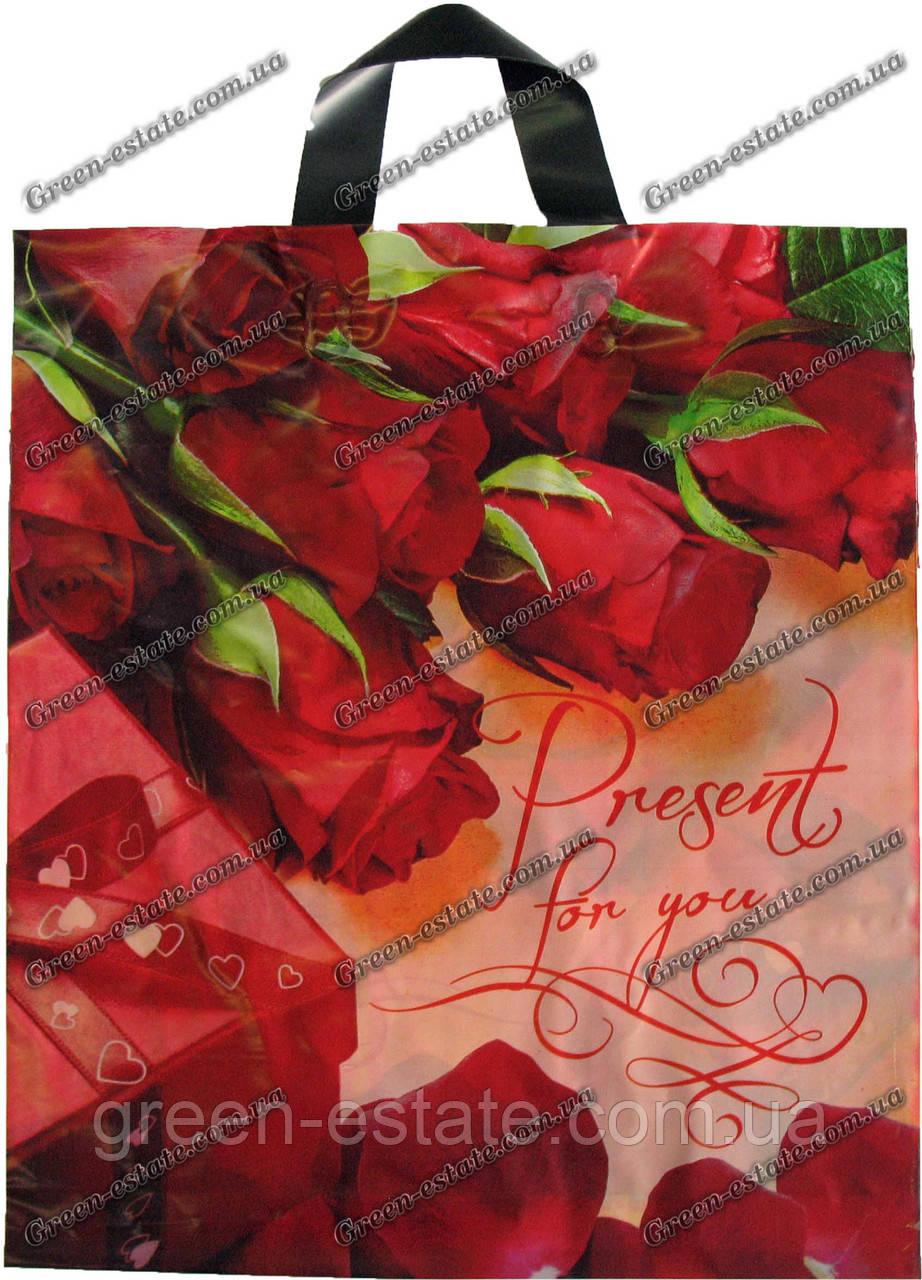 """Пакет петля """"Розы"""" (40*43)"""
