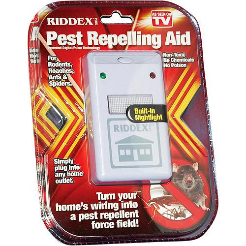 Ультразвуковий відлякувач Ридекс Плюс Riddex Plus Pest Repeller