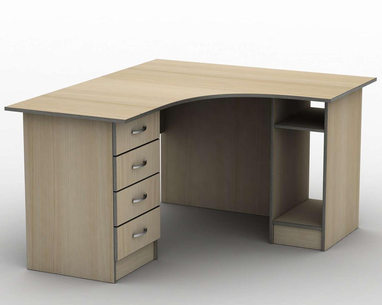 Комп'ютерний стіл Бюджет СПУ-6 (1400*1400) Тіса меблі