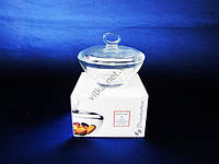 Сахарница  стекло  Аква  13 см 95480 (12шт)