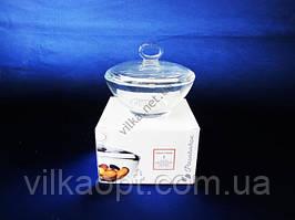 Сахарница стекло Аква d 13 cm h 10 cm