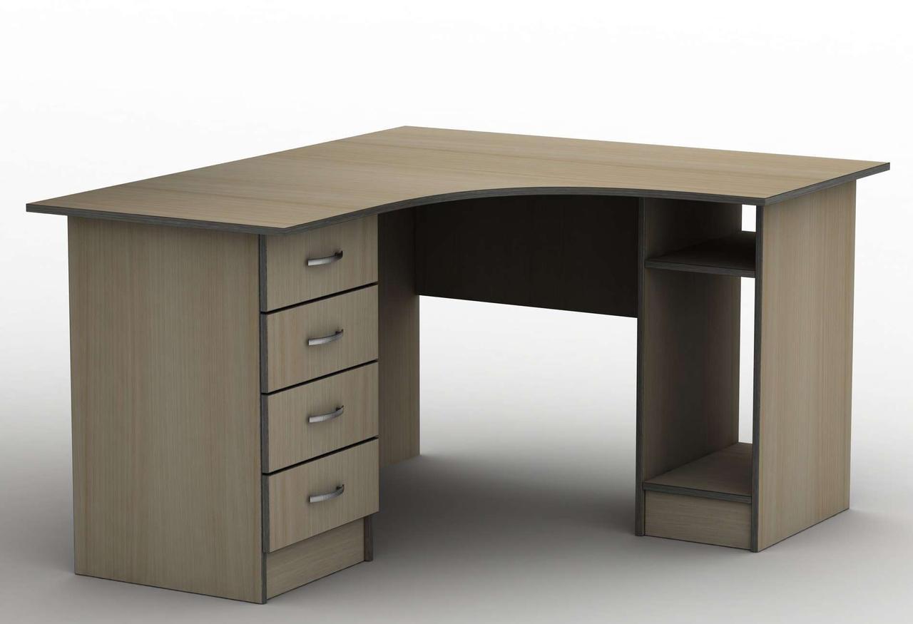 Комп'ютерний стіл Бюджет СПУ-6 (1600*1400) Тіса меблі