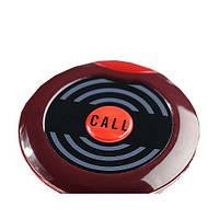 Кнопка вызова официанта  HCM-100 красная