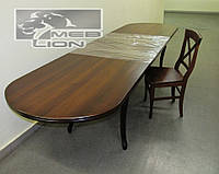 Обеденный комплект: большой раздвижной стол + 8 стульев