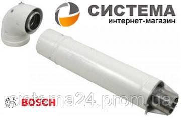 Коаксиальный горизонтальный комплект 60/100 мм AZ 389