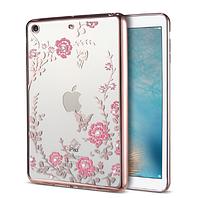 Силиконовый чехол накладка Rose на Apple iPad mini 3 (2 цвета)