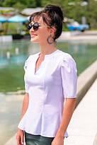Белые блузки для школы и офиса, оптом и в розницу.