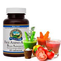 Free Amino Acids / Свободные аминокислоты с L-карнитином и магнием  • Формируют иммунную систему организма