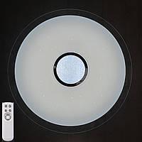 Накладний LED світильник 60W з пультом Д/У (CHR)