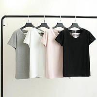 Однотонная футболка , фото 1