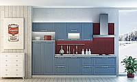 Кухня ФЛОРЕНА (RODA): фасады из МДФ с прямоугольной филенкой, однотонные и под дерево