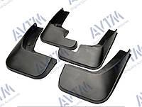 Брызговики полный комплект для Peugeot 301 2012- (1607396780;1607396880), комплект 4шт MF.PE3012012, фото 1