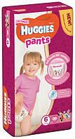 Подгузники-трусики Huggies Pants для девочек 6 (15-25 кг), Mega Pack 36 шт. Артикул: 078924