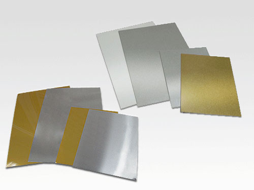 Алюминий для сублимации 20x30 (потёртый 0,45 мм).
