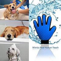 Перчаткa Pet Brush Glove для ухода за Животными S