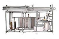 Пастеризационно-охладительная установка ОП2-У15 (15 м³/ч) для пастеризации пищевых продуктов в потоке