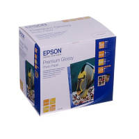 Бумага EPSON фото глянцевая Premium Glossy Photo Paper, 255g/m2, 100 х 150мм, 500л (C13S041826)