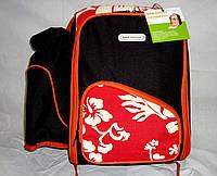 Изотермическая сумка для пикника с набором посуды на 4 персоны + изотермический чехол для термоса Кемпiнг 15 л, фото 1