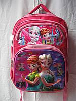 Рюкзак школьный ортопедический музыкальный(35х41 см) Холодное сердце оптом и в розницу 7 км