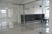 Стеклянные офисные перегородки и двери