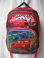 Рюкзак школьный ортопедический музыкальный(35х41 см) Тачки оптом и в розницу 7 км
