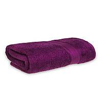 Махровое полотенце 90х150см Grange Sheet 525г\м2 Сливовый