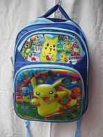 Рюкзак школьный ортопедический музыкальный(35х41 см) Покемон оптом и в розницу 7 км