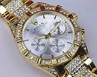 Женские наручные часы кварц корпус золотой, фото 1