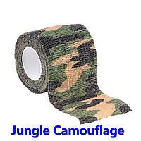 Лента камуфляжная эластичная для обмотки снаряжения мультикам