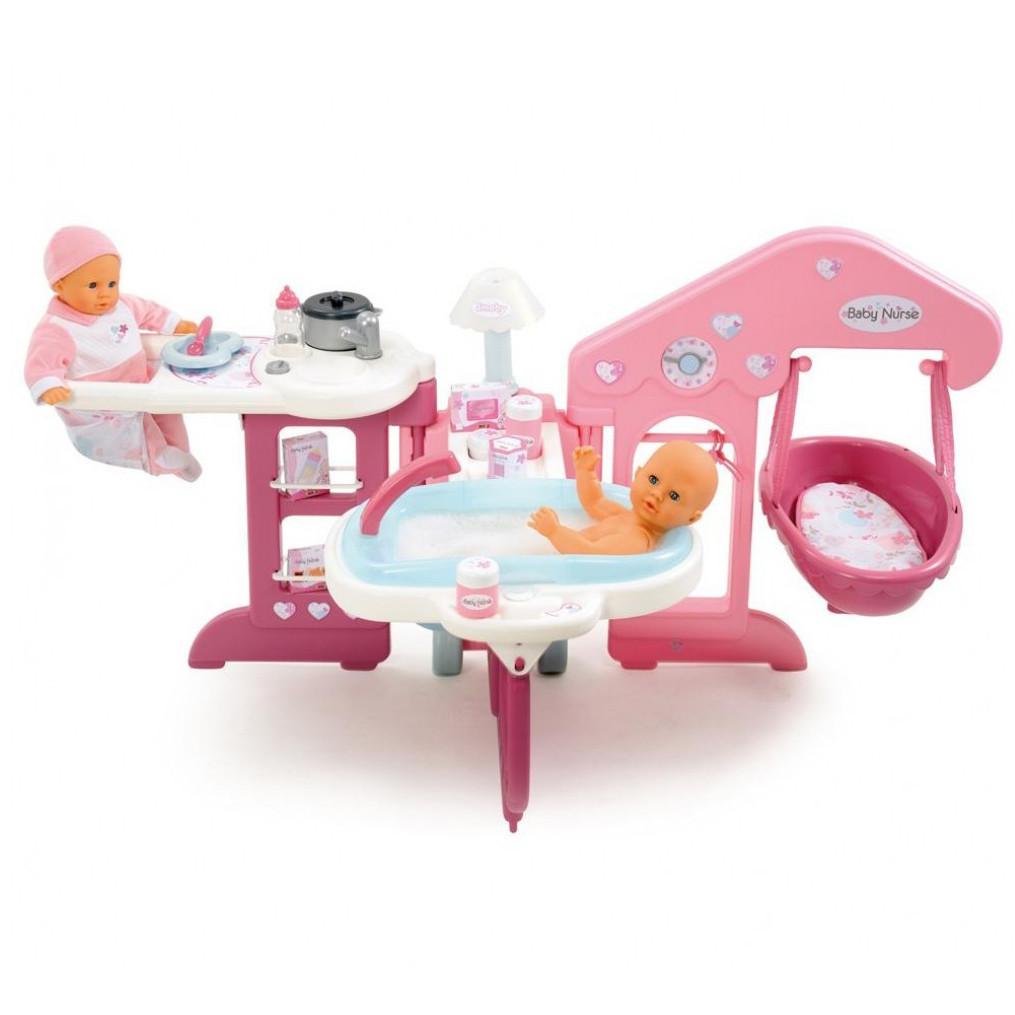 Игровой набор центр по уходу за куклой Baby Nurse Smoby 24018