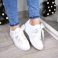 Кроссовки криперы под Puma Suede белые 3460, спортивная обувь