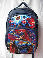 Рюкзак школьный ортопедический музыкальный(35х41 см) СуперМен оптом и в розницу 7 км