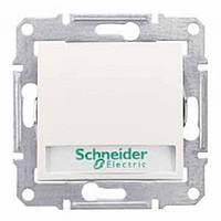 КНОПКА С ПОДСВЕТКОЙ С НАДПИСЬЮ СЛОНОВАЯ КОСТЬ SEDNA Schneider Electric SDN1600323
