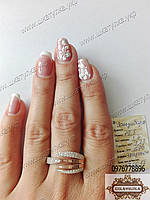 Кольцо из  серебра и золота Занзибара