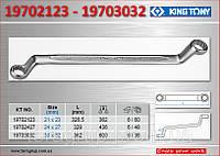 Ключ накидной 75°- 30х32мм., KING TONY 19703032