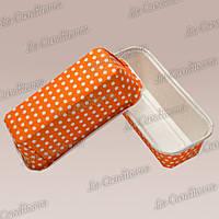 Оранжевые формы для кексов Plumpy, прямоугольные 158x54x50 мм