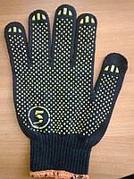 Перчатки с ПВХ 5511, 5нитей, плотировка