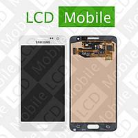 Дисплей для Samsung Galaxy A3 A300, A300F, A300FU, A300H с сенсорным экраном, белый, модуль, дисплей+тачскрин