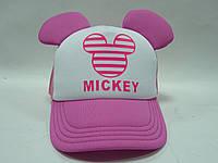 Розовая кепка с ушками MICKEY