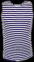 Майки-тельняшки фиолетовые