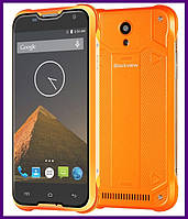 Защищенный смартфон IP68 Blackview BV5000 2/16 GB (ORANGE). Гарантия в Украине!