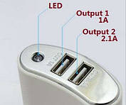 Портативное зарядное устройство Power Bank B-9119, 20000 mAh, фото 3