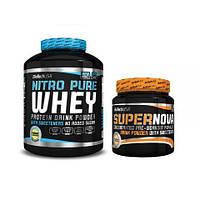 Протеин BioTech Nitro Pure Whey (2.27 kg)