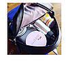 Рюкзак городской женский черный с очками, фото 9