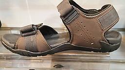 Сандалии New Balance 211 коричневые, фото 2