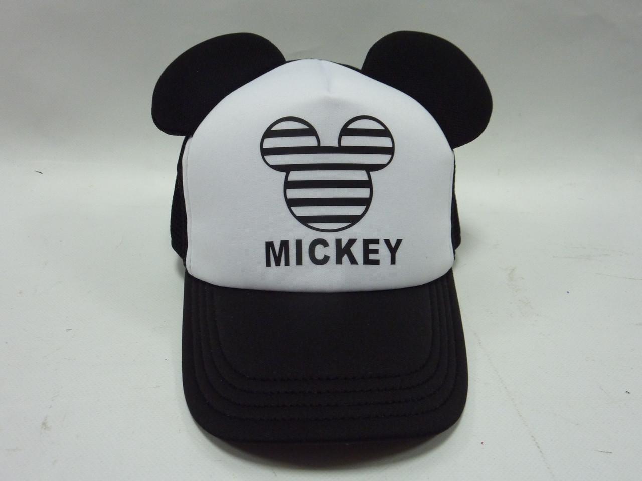 Кепка черная с ушками MICKEY