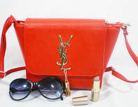 Яркая каркасная модная сумочка для деловой женщины