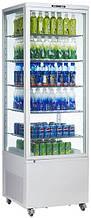 Шкаф-витрина холодильная EWT INOX RT500L