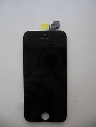 Модуль (дисплей + сенсор)  iPhone 5 черный