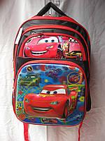Рюкзак школьный ортопедический (29х37 см) Тачки оптом и в розницу 7 км